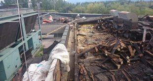 požar Logistični center